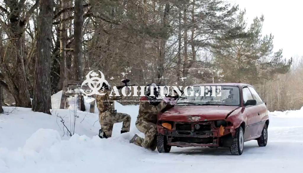 motor paintball tallinn in winter