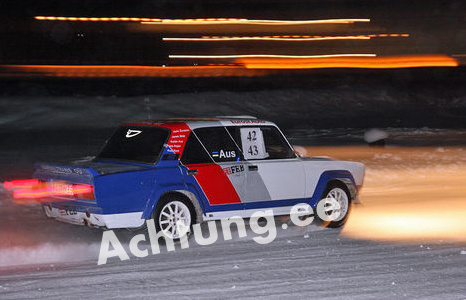 Lada rally bachelor party