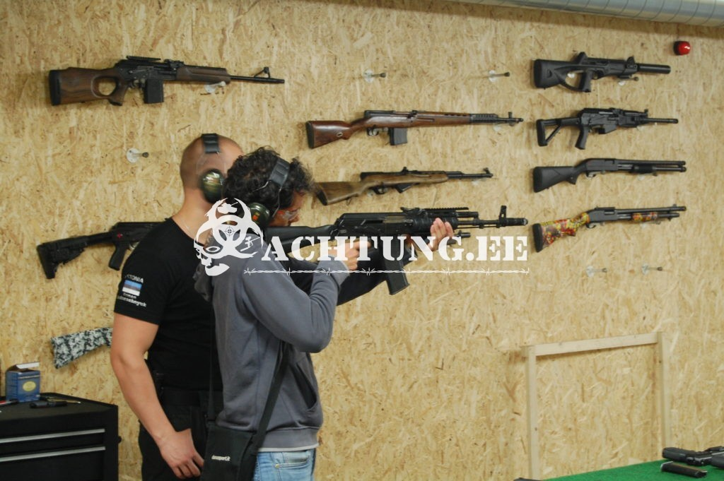tallinn shooting activities
