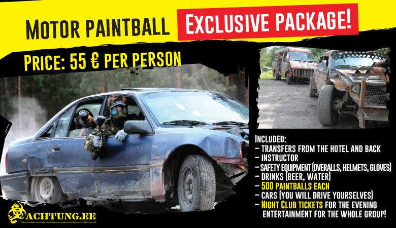 motor paintball